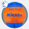 Mikasa Beach Soft Sand grau - blau - orange