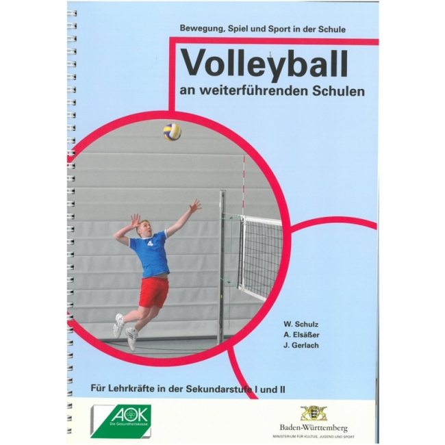 Broschüre: Volleyball in weiterführenden Schulen