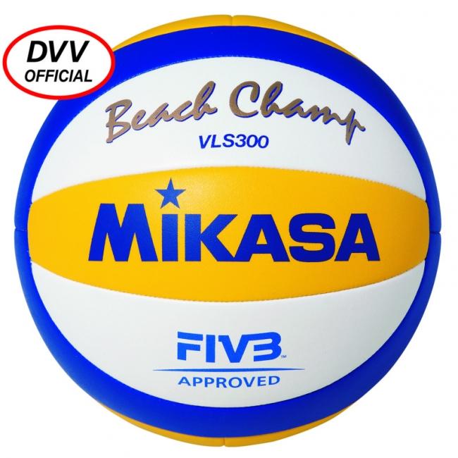 Mikasa Beach Champ VLS 300 weiß - gelb - blau